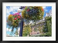 Framed Flowers, Empress Hotel, Victoria, British Columbia