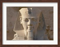 Framed Ramesses II, New Kingdom, Temple of Luxor, Egypt