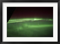 Framed Aurora Borealis as Viewed onboard the International Space Station