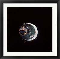 Framed Gemini 7 Spacecraft