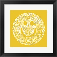 Framed Smile (Different Languages)