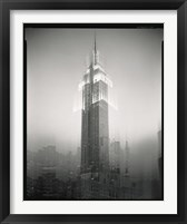Framed Empire State Building Motion Landscape #2