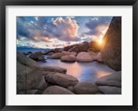 Framed Cove Sunset