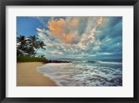 Framed Secluded Beach