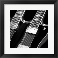 Framed Classic Guitar Detail I