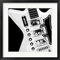 Classic Guitar Detail II Framed Print