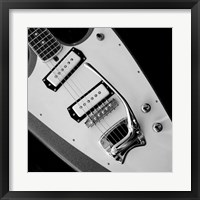 Framed Classic Guitar Detail VI