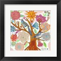 Framed Sun Tree