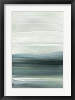 Framed Silver Silence: Opal Sky