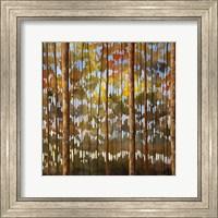 Framed Tarnished Wood