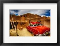 Framed 50's Buick Dynaflow