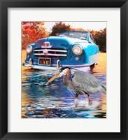 Framed 1950 Nash Rambler Convertible