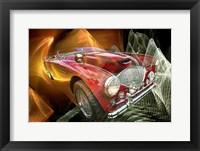 Framed Austin Healy