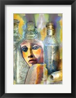 Framed Bottled Woman