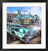 Framed Buick Super Riveria 1957