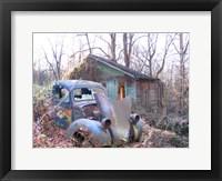 Framed Old Cabin in Georgia