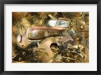 Framed Solid Rust