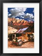 Framed Tanker Truck in Jerome Arizona