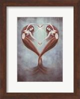 Framed Heart Dance