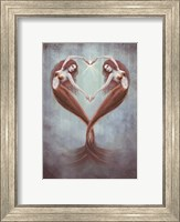 Framed Heart Dance