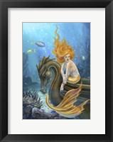 Framed Sunlit Seas