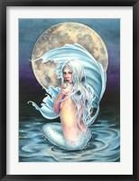 Framed Moon Mermaid