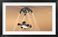 Framed Sky Crane Maneuver During the Descent of NASA's Curiosity Rover