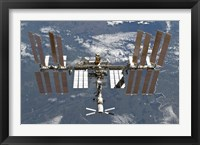 Framed International Space Station 1
