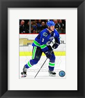 Framed Kevin Bieksa 2014-15 Action