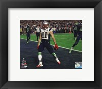 Framed Julian Edelman Touchdown Super Bowl XLIX