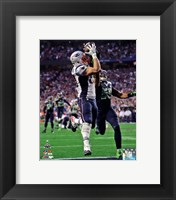 Framed Rob Gronkowski Touchdown Super Bowl XLIX