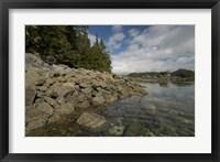 Framed Dicebox Island, Pacific Rim NP, British Columbia