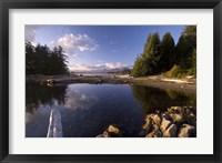 Framed Keith Island, Pacific Rim NP, British Columbia