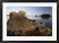 Framed Keith Island, Pacific Rim, British Columbia