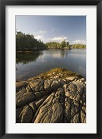 Framed Skull Cove, Bramham Island, British Columbia, Canada