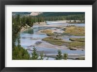 Framed Rivers in Jasper National Park, Canada