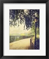Framed Central Park Path 1