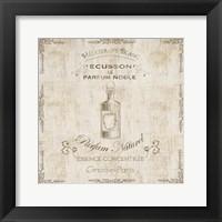 Framed Parchment Bath Perfume 2