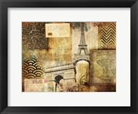 Framed Vintage Collage