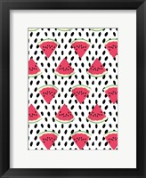 Framed Watermelon Seeds Pattern