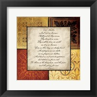 Our Father Framed Print