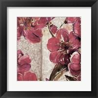 Marsala Floral Framed Print