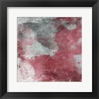 Cosmic Marsala I Framed Print