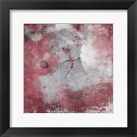 Cosmic Marsala II Framed Print