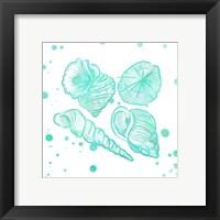 Splat Shells I Framed Print
