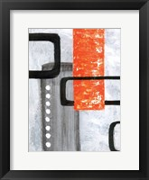 U Turn 2 Framed Print