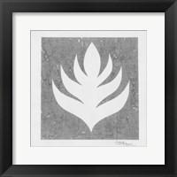 Framed Pewter Fire II