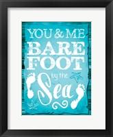Coastal Love 01 Framed Print