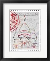 Postcards from Paris  04 Framed Print