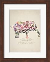 Framed Elephant Set 01